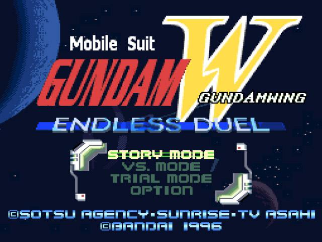 rom gundam wing endless duel